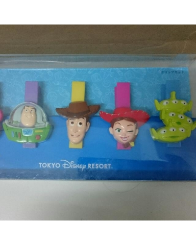 Japan Tokyo Disneyland Disneysea Disney Resort Land Sea Toy Story Clothes Clips Pegs Lotso Little Greenmen Alien Buzz Light Year Jessie Woody
