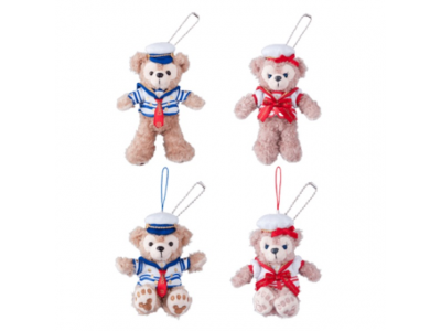 Japan Tokyo Disneysea Disneyland Disney Resort Sea Land 2015 Journey with Duffy Edition Stuffed Strap Duffy Shelliemay 2015 ジャーニー・ウィズ・ダッフィー ぬいぐるみストラップ