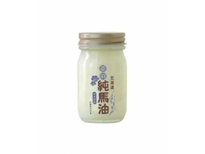 Japan Hokkaido Tennendo Flax Pure Horse Oil Cream Domestic Edition 純馬油北海道天然堂 70ml