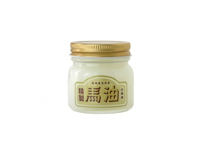 Japan Hokkaido Tennendo Pure Horse Oil Cream Flat Bottle 北海道天然堂精製馬油 70ml