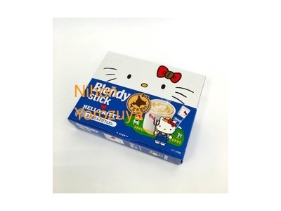 Hokkaido Japan Limited Hello Kitty Blendy Sticks Instant Coffee with Milk ハローキティ北海道ミルクカフェオレ