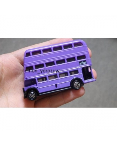 Japan Universal Studios USJ Harry Porter Knight Bus Limited Tomica Toy