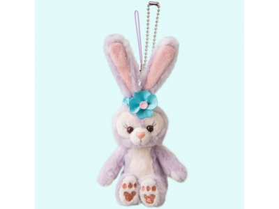 Disney Duffy and Friends Stella Lou Sitting Stuffed Chain Strap