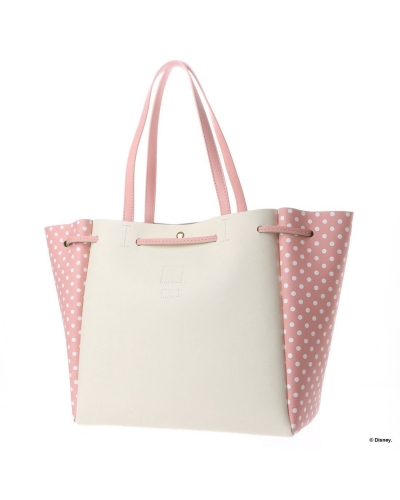 Japan Samantha Thavasa Colors By Jennifer Sky Disney Collection Thumper and Miss Bunny Light Blue/Pink Tote Bag カラーズバイジェニファースカイ ミスバニーリベール