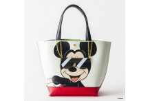 Japan Samantha Thavasa Colors By Jennifer Sky Disney Collection Mickey Mouse Black Tote Bag カラーズバイジェニファースカイ ミッキー&ドナルドコローレ(ブラック)