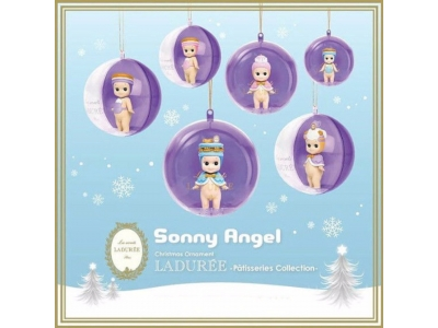 Les Secrets Laduree Paris Dreams Sonny Angel Christmas Ornament Patisseries Collection ソニーエンジェル × ラデュレ クリスマス オーナメント