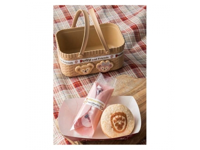 Japan Tokyo Disneyland Disneysea Disney Resorts Land Sea Duffy and Friends Souvenir Basket