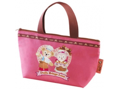 Tokyo Disney Duffy & Shelliemay Bear 2015 Sweet Valentine Lunch Bag disneysea disney sea 日本東京迪士尼樂園達菲熊雪莉梅2015年情人節午餐袋