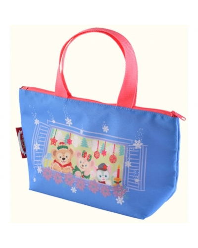 Japan Tokyo Disneysea Disneyland Disney Resort 2015 Very Merry SnowTime Christmas Duffy ShellieMay Gelatoni souvenir lunch case