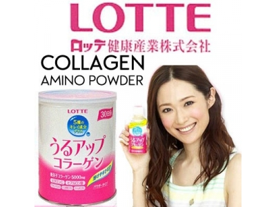 [LOTTE] LOTTE COLLAGEN AMINO POWDER/ REFILL PACK/ TIN/ RECOMMENDED BY  女人我最大 うるアップコラーゲン