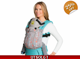 Lillebaby bæresele - All Seasons - Cupid´s arrows