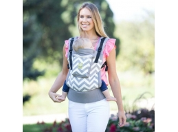 Lillebaby bæresele Essentials  - grey chevron