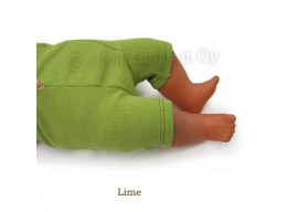 Muksut merino ullbukser Shorties - lime