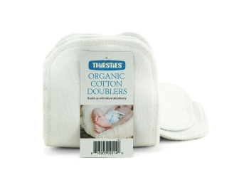 Thirsties organic Cotton Doubler 3 pk - Small