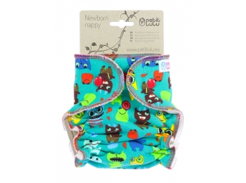 Petit Lulu Newborn - monsters