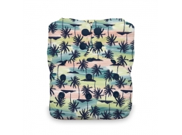 Thirsties Onesize aio m/knapper - Palm Paradise