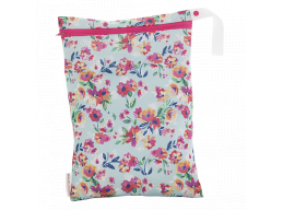 On-the-go wet bag - smartbottoms - Aqua Floral