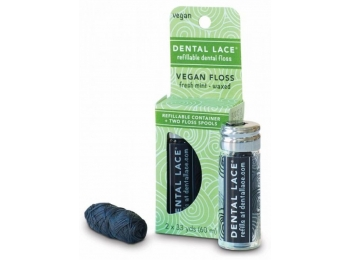 Dental Lace Berry - tanntråd i glass - Vegansk
