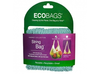 ECOBAGS® Stringbag -  lang hank - Washed Blue