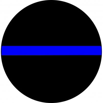 Thin Blue Line Spare Tire Cover