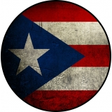 Puerto Rican Flag Spare Tire Cover