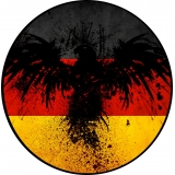 German Flag Spare Tire Cover