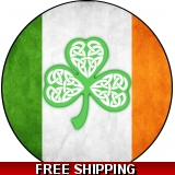 Irish Flag Celtic Clover Spare Tire Co..