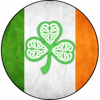 Irish Flag Celtic Clove..