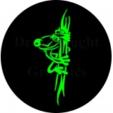 Green Tree Frog Spare Tire Cover
