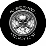 All Who Wander Are Not Lost spare tire..