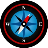 Compass Rose Spare Tire Cover