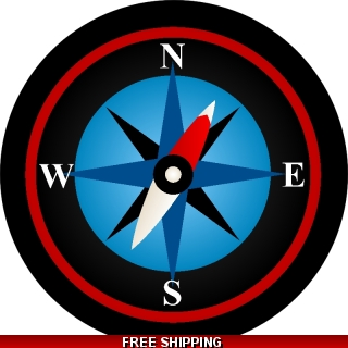 Compass Rose Spare Tire..