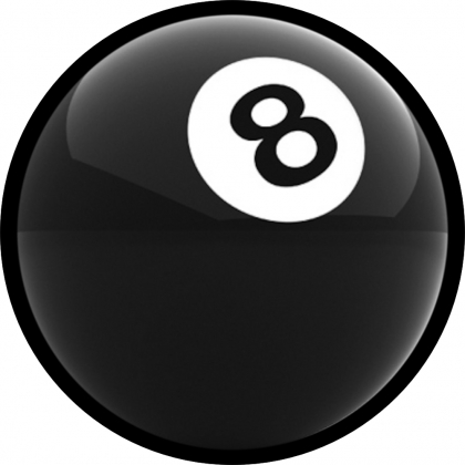 Eight Ball Spare Tire Cover