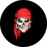 Tribal Pirate Spare Tire Cover