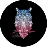 Spare Tire Cover with Owl