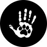 Paw Print Hand Print Spare Tire Cover ..