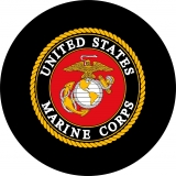 Marine Corps Logo Spare Tire Cover