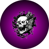 Vampire Hunter Purple Spare Tire Cover