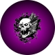 Vampire Hunter Purple Spare Tire C..
