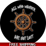 All Who Wander / Ships Wheel spare tir..