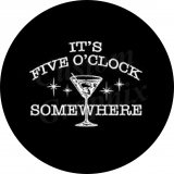 It's 5 O'Clock Somewhere tire cover