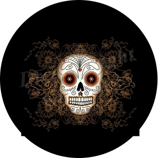 Sugar Skull White with ..