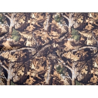 Neoprene sheet. Autumn leaf pattern. Measures 128cm x 79cm. 1 Sq Metre.