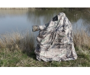 Wildlife photography bag hide in lightweight leaf material