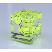 Hot Shoe 3 Dimension Axis Bubble Spirit Level
