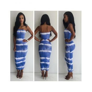 Tie Dye Tube Dress