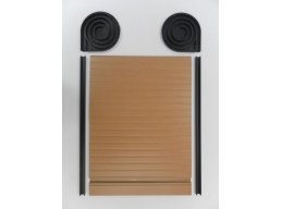 Tambour Door Face Fix Spiral Kit Beech Finish