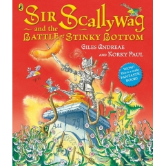 Book & CD Pack: Sir Scallywag and the Battle of Stinky Bottom