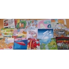 Set of 15 postcards - S..