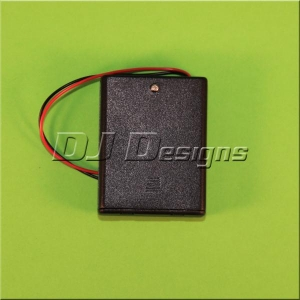 4AAA Battery Box with Switch